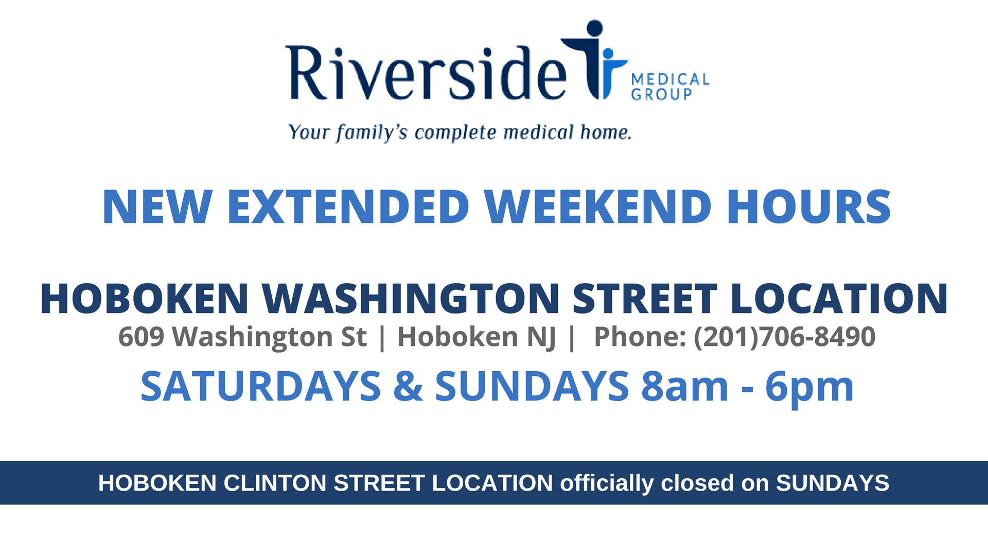 Hoboken Washington St Extends Weekend Hours