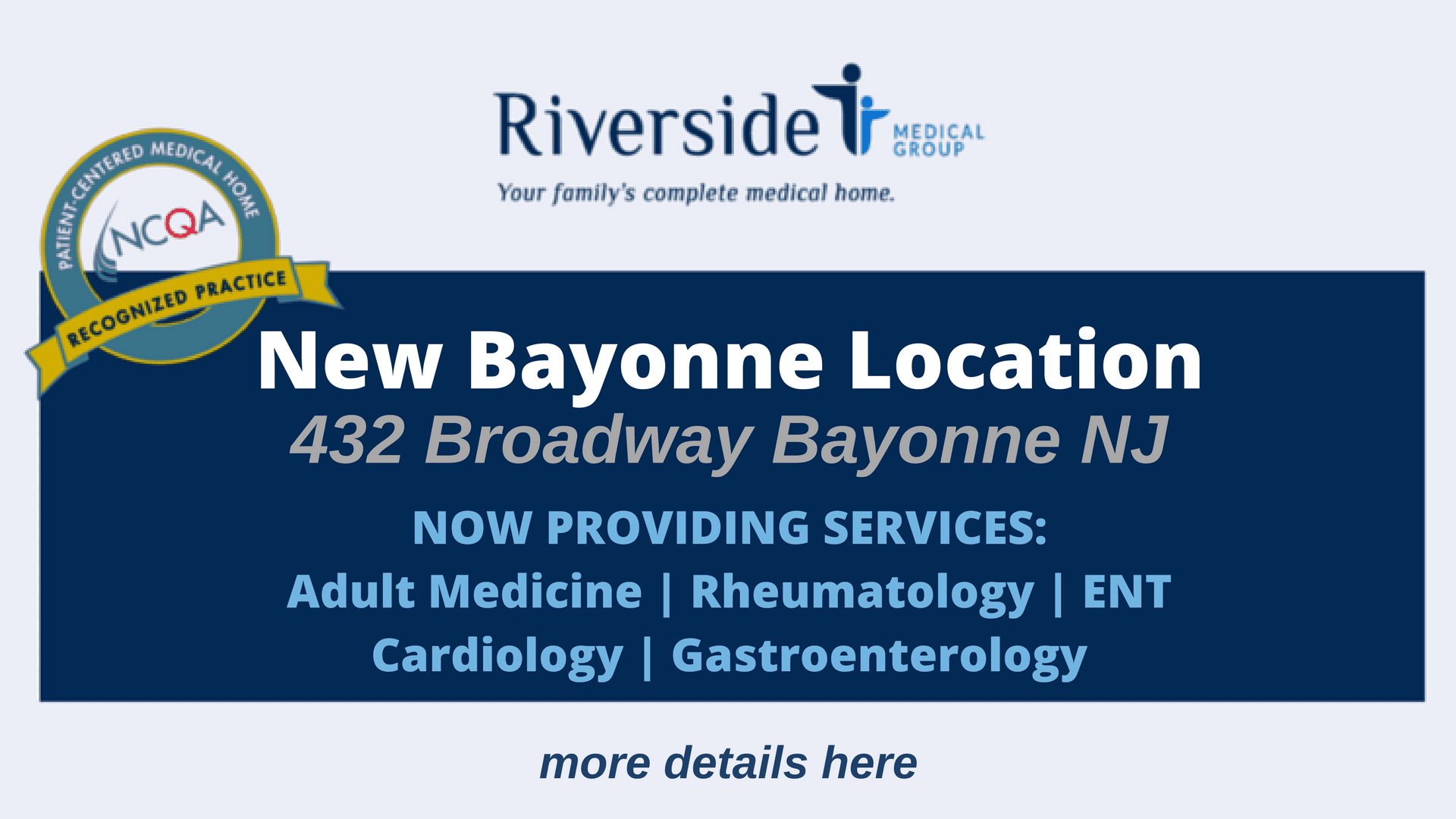 New Bayonne Location Now Open