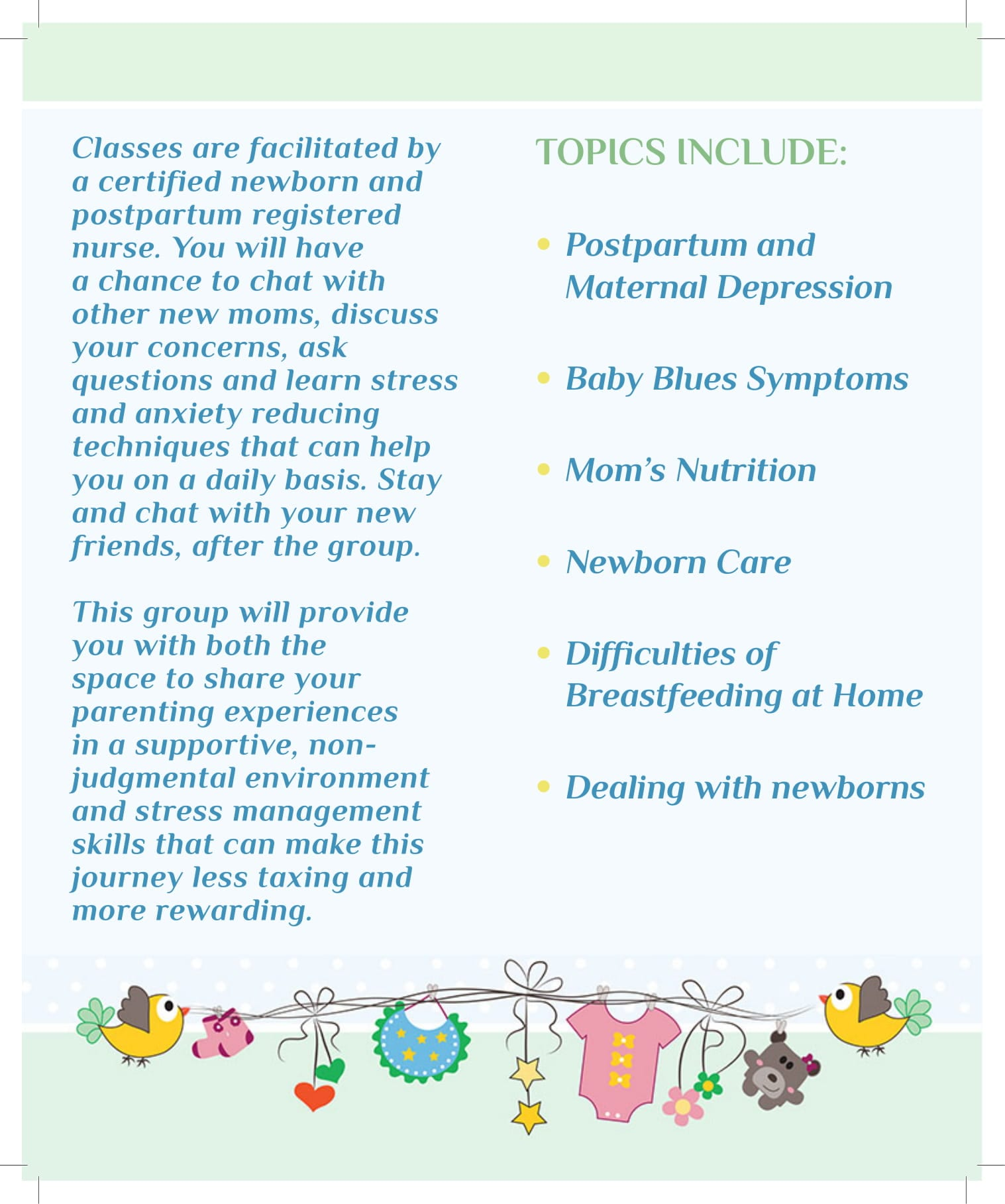 Join Our Free New Mothers Group Riverside Medical Group