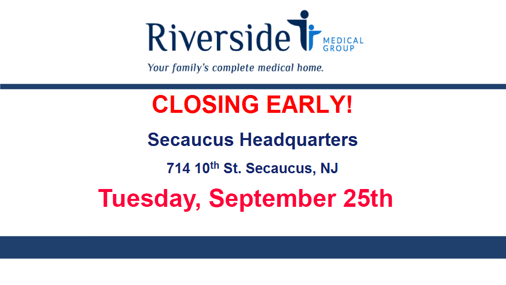 Secaucus Headquarters Closing Early