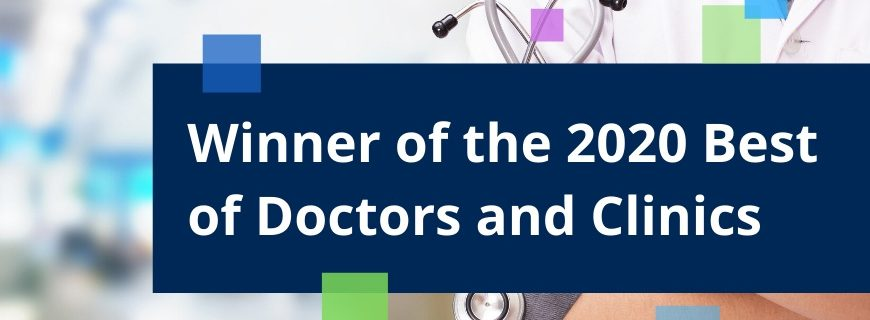 Winner for the 2020 Best of Jersey City Awards in the category of Doctors & Clinics