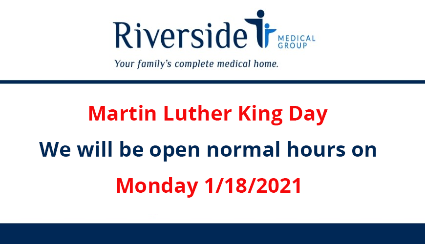 Holiday Hours Notice